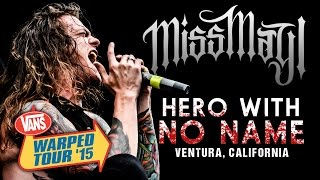 "Miss May I - ""Hero With No Name"" LIVE! Vans Warped Tour 2015"