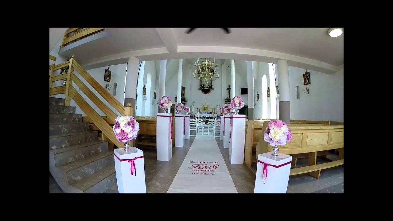 Wwwfabrykaslubupl Rzeszów Dekoracja Kościoła Do ślubu Rzeszów
