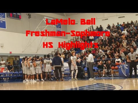 LaMelo Ball Freshman-Sophomore Year Chino Hills High School Highlights 2015-2017