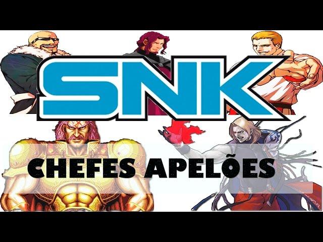 Os Chefes mais apelões da SNK