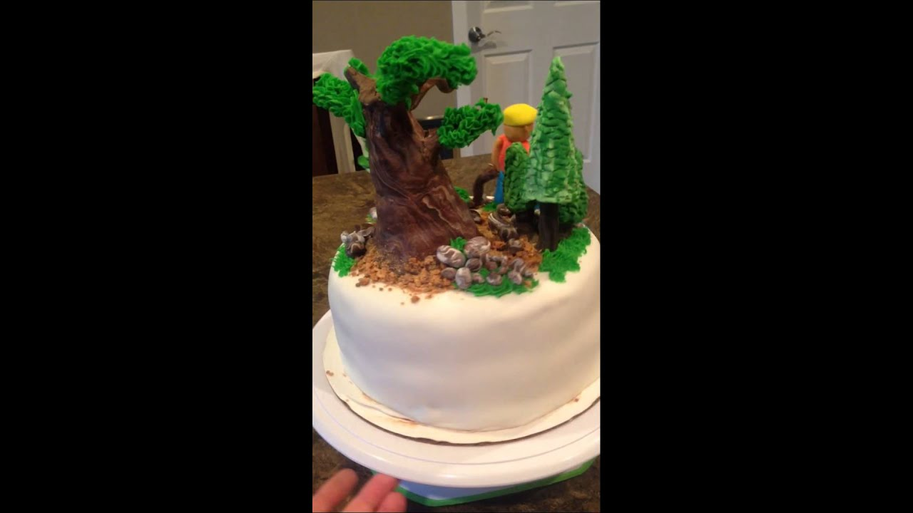 woods themed wedding cakes forest themed cake 27617