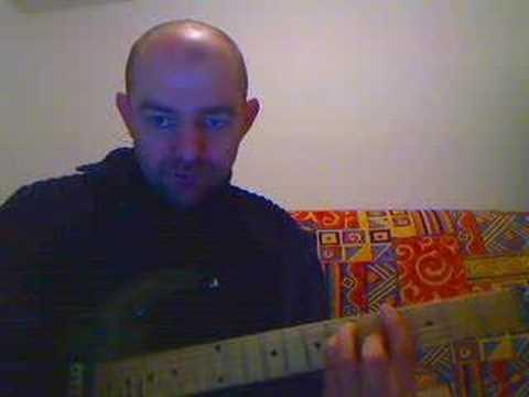 cours guitare les barres position 1