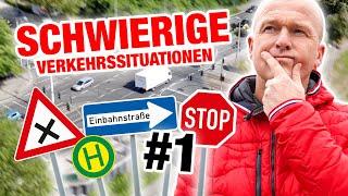 Schwierige Verkehrssituationen - einfach erklärt! 🚘 Teil 1 | Fischer Academy