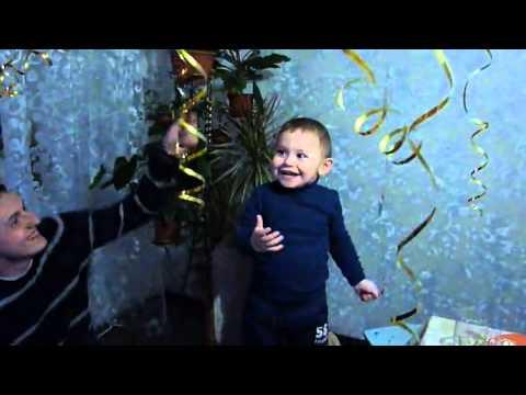 видео: Сюрприз в день рождения Арсения от крестной! город курск  год