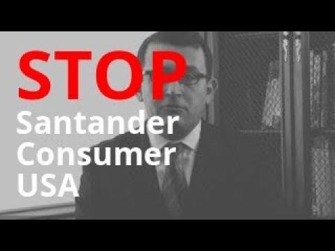 Stop Santander Consumer USA Unwanted Calls & Debt Harassment