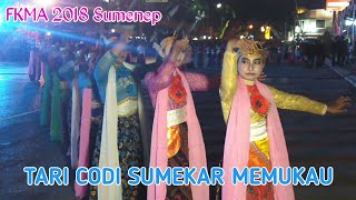 Tari Codi Sumekar dalam Festival Keraton se Asean di Sumenep