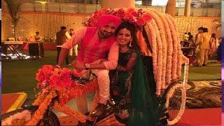 Harbhajan Singh Dance in Sangeet Ceremony | Harbhajan Wedding with Geeta Basra - India TV