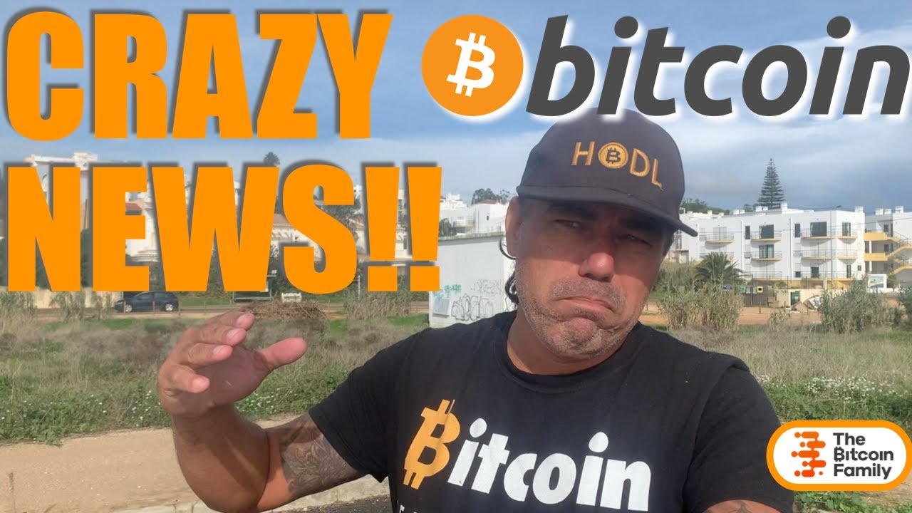 WOW!!!! CONGRATS BTC ON ATH BUT THIS IS CRAZY NEWS!!! Bitcoin, Blockchain and Life!!