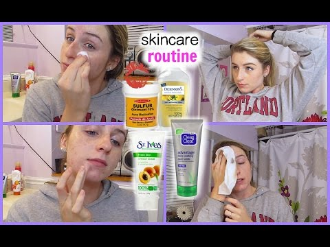 ACNE CLEARING Skin Care Routine