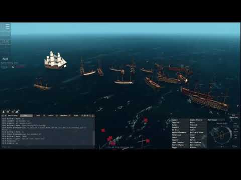 Naval Action 1st Rate Portbattle Grand Turk SWE Victory vs RUS Ocean