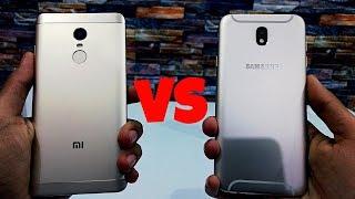 Samsung Galaxy J7 Pro vs Redmi Note 4: Speed Test!!