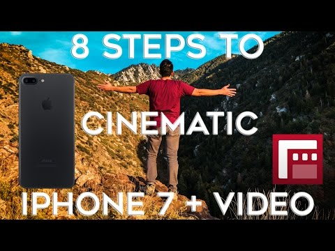 How to make a movie on iphone 7 plus