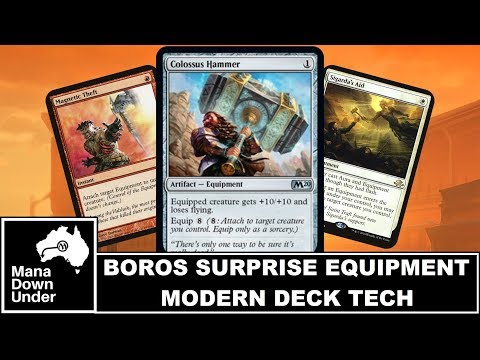 Modern Deck Tech - Boros Surprise Equipment + Infect [MTG / Magic: The Gathering]
