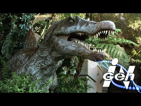 How InGen created a secret SPINOSAURUS...
