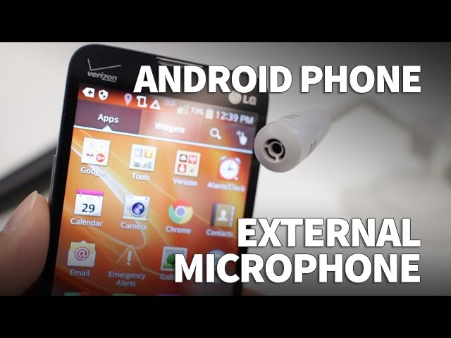 How to Use an External Microphone on Android Phone with 3 5