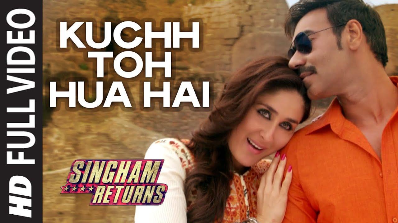 Download Official: Kuchh Toh Hua Hai Full VIDEO Song   Singham Returns   Tulsi Kumar   Ankit Tiwari