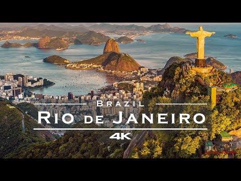 Rio de Janeiro, Brazil 🇧🇷  - by drone [4K]