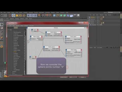 Organic Sphere using Xpresso and Dynamic - tutorial #10 - tutorial