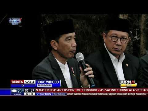 Di Depan Ulama Seluruh Bogor, Jokowi Klarifikasi Tudingan Antek Asing