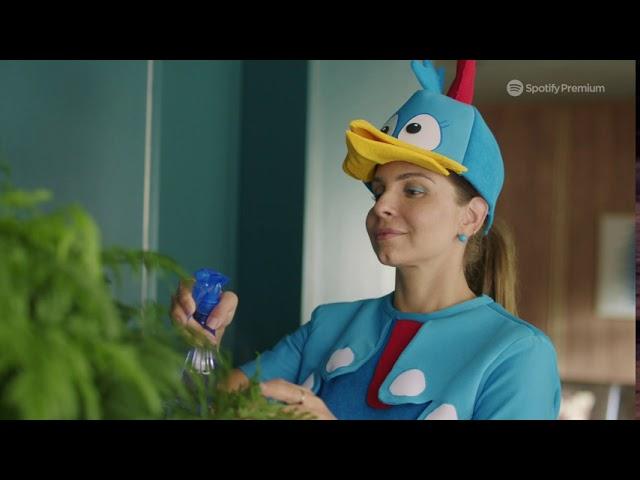 Galinha Pintadinha participa da primeira campanha do Spotify na TV