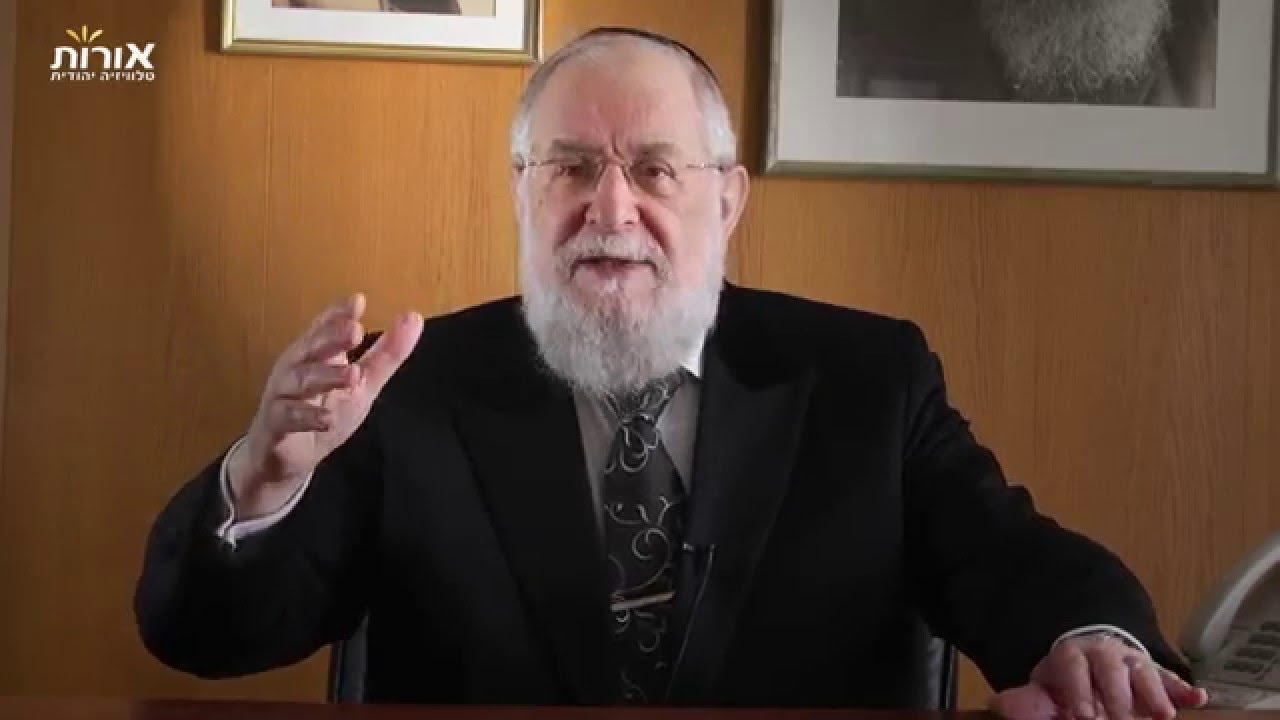 Weekly Torah Portion With Rabbi Lau - Parashat Terumah