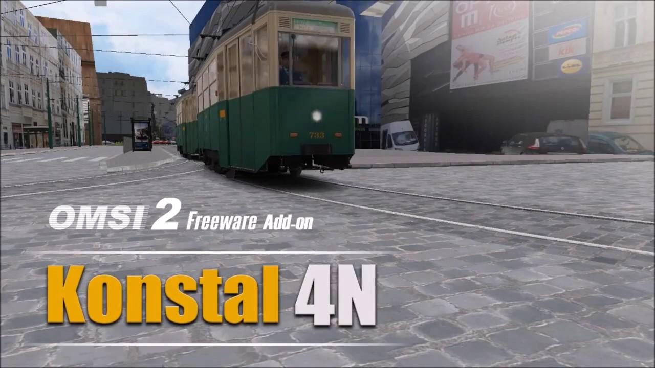konstal 4n » - addon - deutsch - omsi 2 offizieller trailer - youtube - Foto Freeware Deutsch