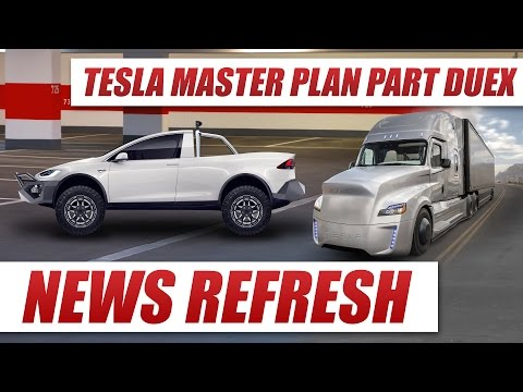Tesla's Master Plan: Part Deux is a Look Into the Future