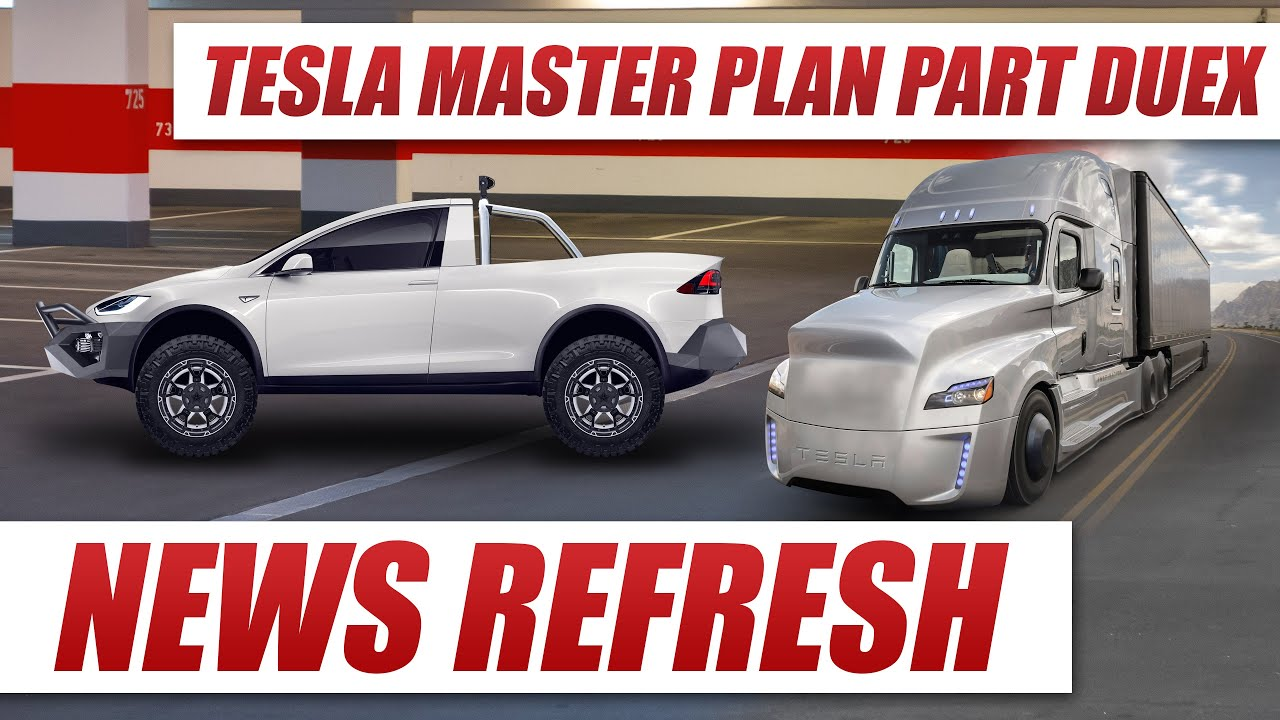 Tesla S Master Plan Part Deux Is A Look Into The Future