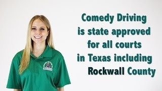 Rockwall County Texas Defensive Driving | Comedy Driving Inc