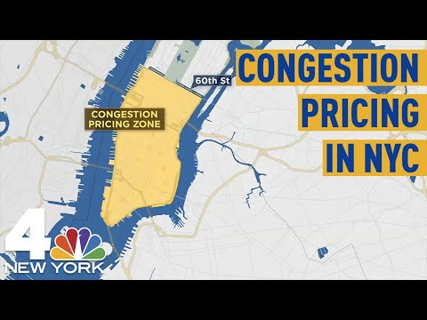 Congestion Pricing in NYC: Everything We Know So Far  NBC New York