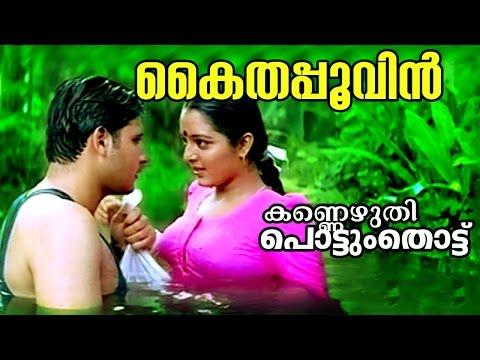 Kaithappoovin... | Kannezhuthi Pottum Thottu | Malayalam Movie Song