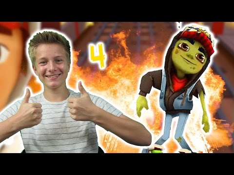 Let's Play Subway Surfers Part 4 App (Deutsch/German) Max Apps