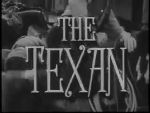 """The Texan"" US TV series (1958--60) intro / lead-in"