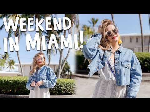 Miami for the Weekend! | Travel Vlog
