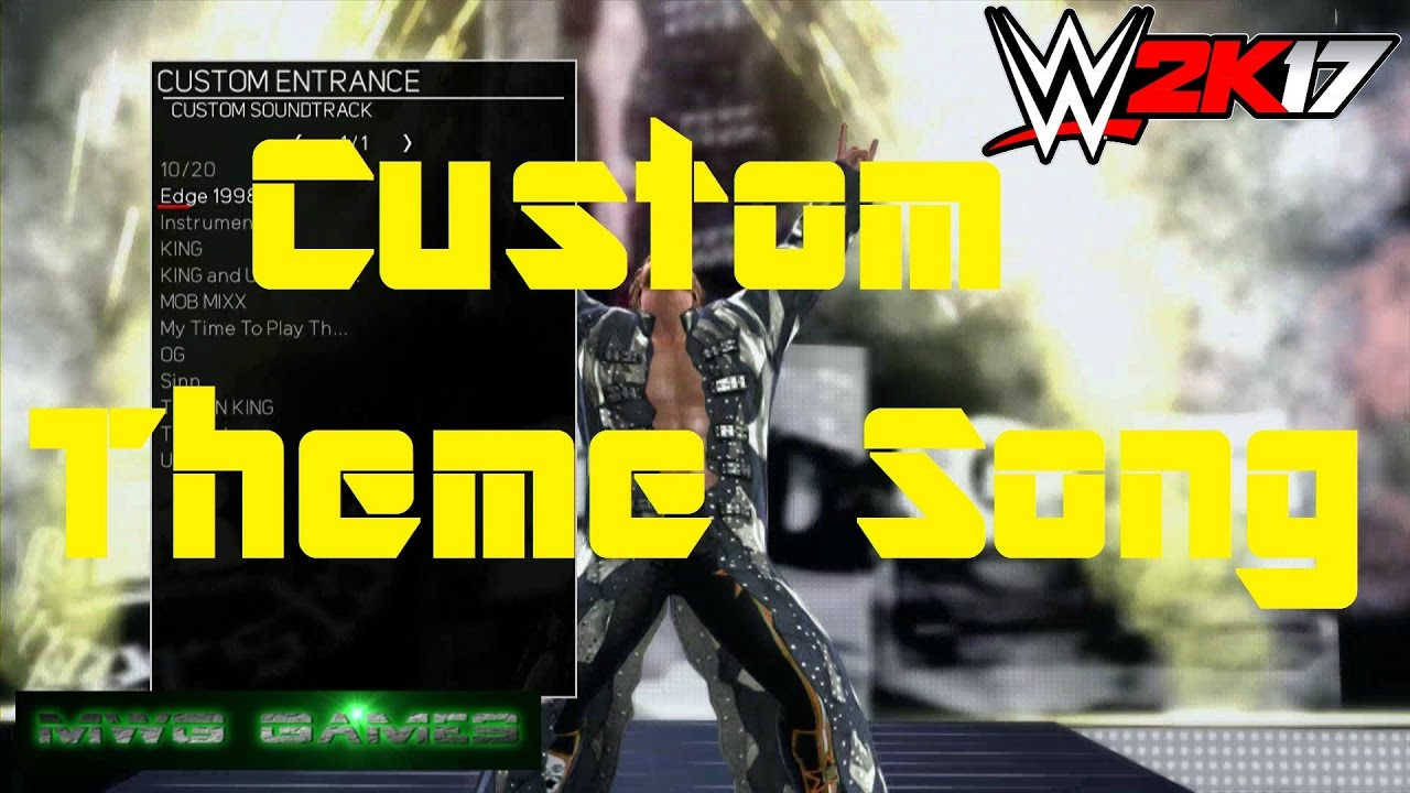 What Fuse Does A Xbox 360 Use : Wwe k how to use your own custom theme song last gen