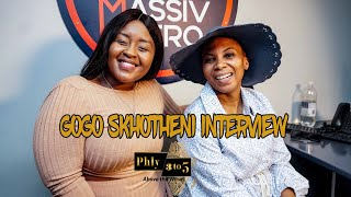 Gogo Skhotheni speaks on finding and embracing spirituality and the influence of Christianity