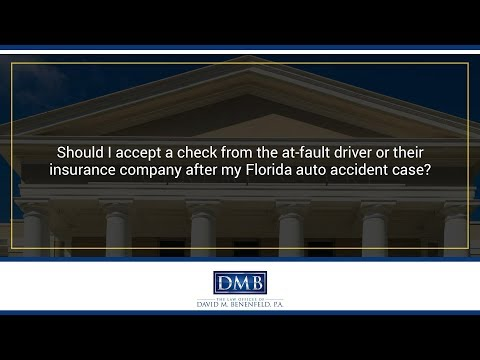 Should I accept a settlement offer in my Florida slip and fall case?