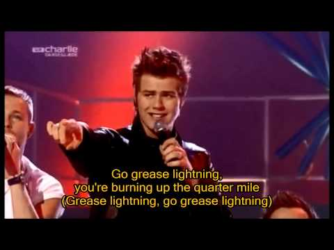 Westlife - Greased Lightning 2003 with Lyrics