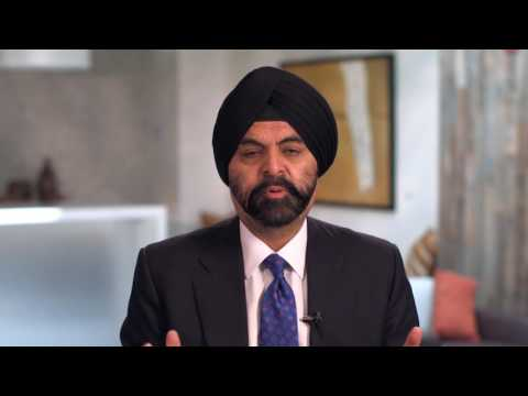 Ajay Banga, President and CEO Mastercard, ICC Inspire Awardee