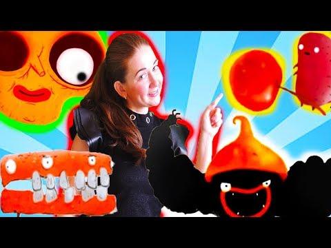 Приключения ЧЕРНОГО ЗВЕРЬКА МАЛЫШ Chuchel ШЕСТАЯ ЧАСТЬ! игра мультик детский летсплей video games