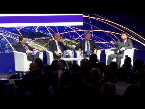 Geopolitics and the Built Environment panel | World Built Environment Forum Annual Summit 2017