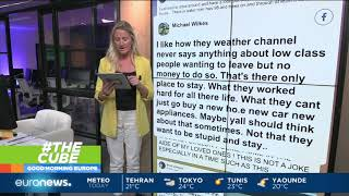 #TheCube | Devastating scenes of Hurricane Michael emerge, but so are fake photos