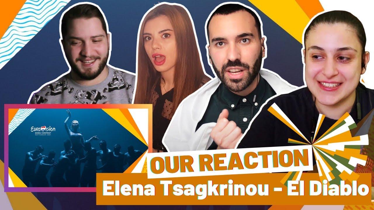 "REACTION: CYPRUS 2021 (Elena Tsagkrinou - ""El Diablo"")"