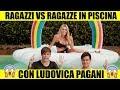 Ragazzi Vs Ragazze In Piscina - Con Ludovica Pagani - Ipantellas