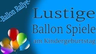 Ballon Spiele am Kinderfest - Ballon Rallye