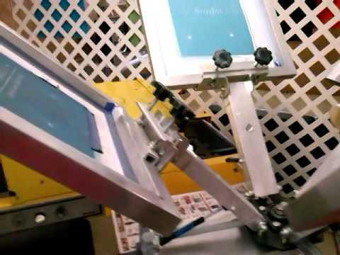 SilkScreen Printing Equipment For $ale Feb 7,2014