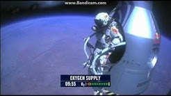 Felix Baumgartner HD Jump RedBull Livestream 14.10.2012 Jump from edge of Space