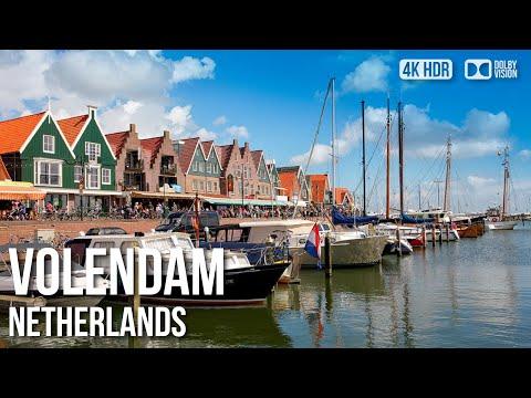 Volendam, Traditional Dutch Fishing Village (🎧Binaural Audio) - 🇳🇱 Netherlands - 4K Virtual Tour