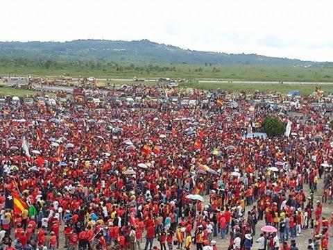 Kampanya Presiden Francisco Lu-Olo Fretelin di Kota Madia Baucau