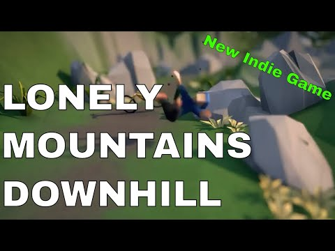 Lonely Mountains Downhill - Gameplay Trailer (Upcoming Indie Game)
